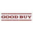 Good Buy Watermark Stamp vector image vector image