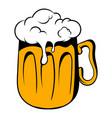 mug of beer icon icon cartoon vector image vector image