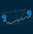 navigation digital concept vector image vector image