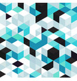 abstract background with color cubes and grid vector image
