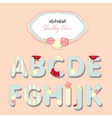 Alphabet shabby chic