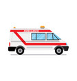 ambulance car medical service vector image
