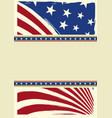 american nice background flag vector image