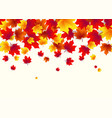 autumn border background vector image