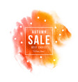 autumn sale best choice have fun banner vector image vector image