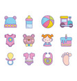 Bashower clothes toys accessories icons