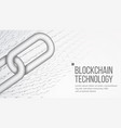 blockchain cooperation business concept vector image vector image