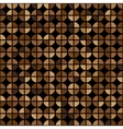 Coffee Colors Rings Diagram Seamless Pattern vector image vector image