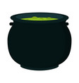 halloween soup pot vector image