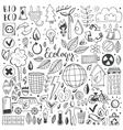 Hand drawn sketch elements set