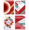 infographics in brochures for minimalist design vector image vector image