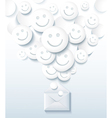 Positive message vector image vector image