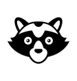 Raccoon Head Logo Style Icon vector image