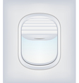 Window Airplane 02 vector image vector image