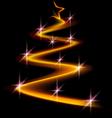 xmar light gold vector image