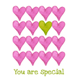 you are special vector image