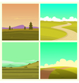 Cartoon Landscape Set