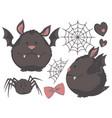chubby bat vector image vector image