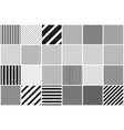 collection seamless striped patterns vector image vector image