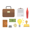 creative office workplace modern vector image vector image