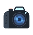 Digital photo camera isolated vector image vector image