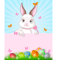 Easter Bunny Design vector image vector image