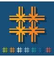 Flat design prison vector image vector image