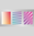 minimal cover design background set a4 format vector image vector image