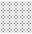 monochrome abstract geometrical square pattern vector image vector image