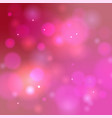 pink bokeh background abstract defocused circular vector image