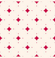 seamless pattern with tiny diamond shapes vector image
