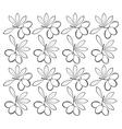 branch olive leaves seamless pattern design vector image
