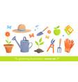 gardening equipment vector image