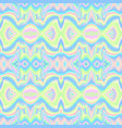 holographic waves seamless pattern vector image vector image