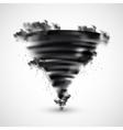 Realistic Tornado vector image vector image