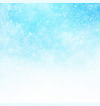 winter white and blue sky background christmas vector image vector image