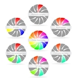 Color harmony combinations vector image vector image