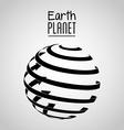 earth planet design vector image vector image