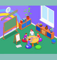 elementary education background vector image vector image