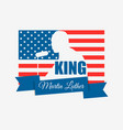 martin luther king day i have a dream mlk day vector image vector image
