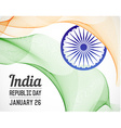 National Republic Day of India Country in Blending vector image vector image