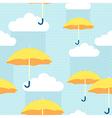 pattern rain vector image vector image