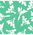 radish pattern green vector image vector image