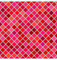 red abstract square pattern background vector image vector image