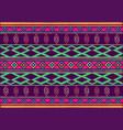 african wax print fabric ethnic handmade ornament vector image vector image