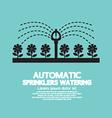 Automatic Sprinklers Watering vector image vector image