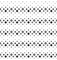 geometrical monochrome seamless square pattern vector image vector image