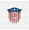 Independence day sale banner design template