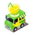 lemonade machine icon isometric style vector image vector image