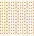 retro golden pattern seamless background vector image vector image